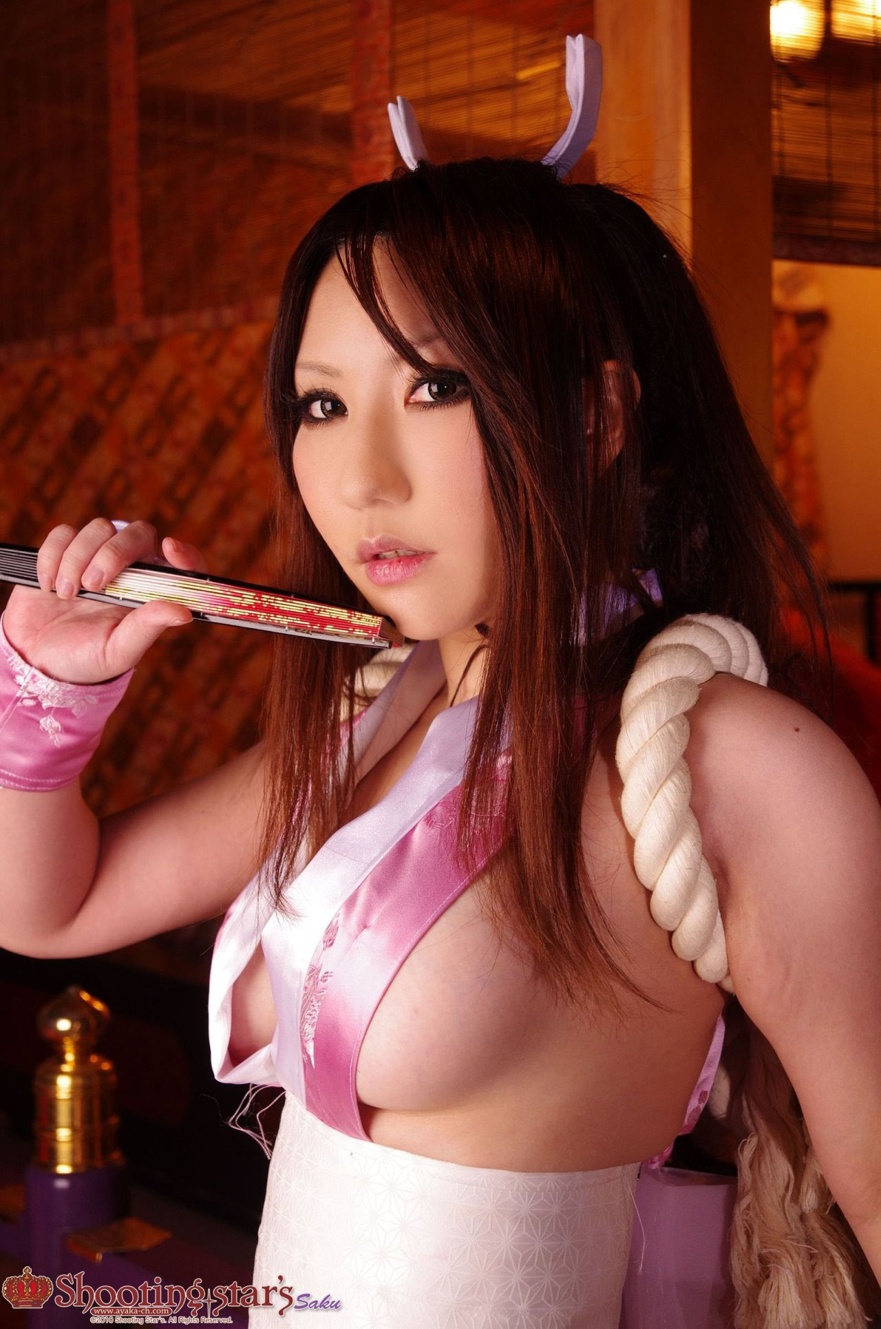 косплей king of fighters shiranui_mai